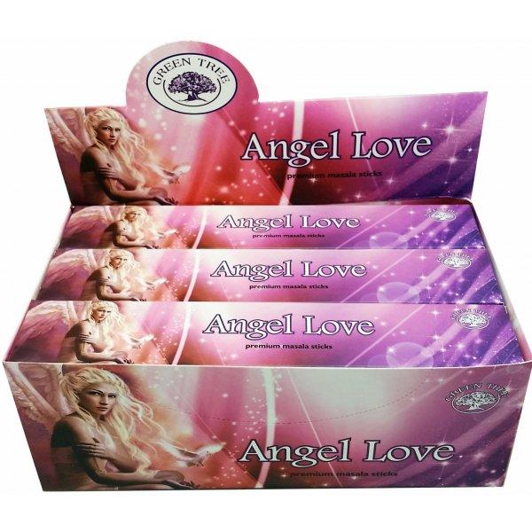 Green Tree Incense Sticks - ANGEL LOVE