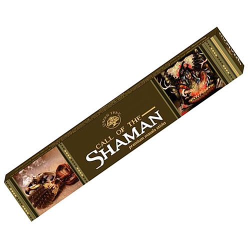 Green Tree Incense Sticks - CALL of the SHAMAN