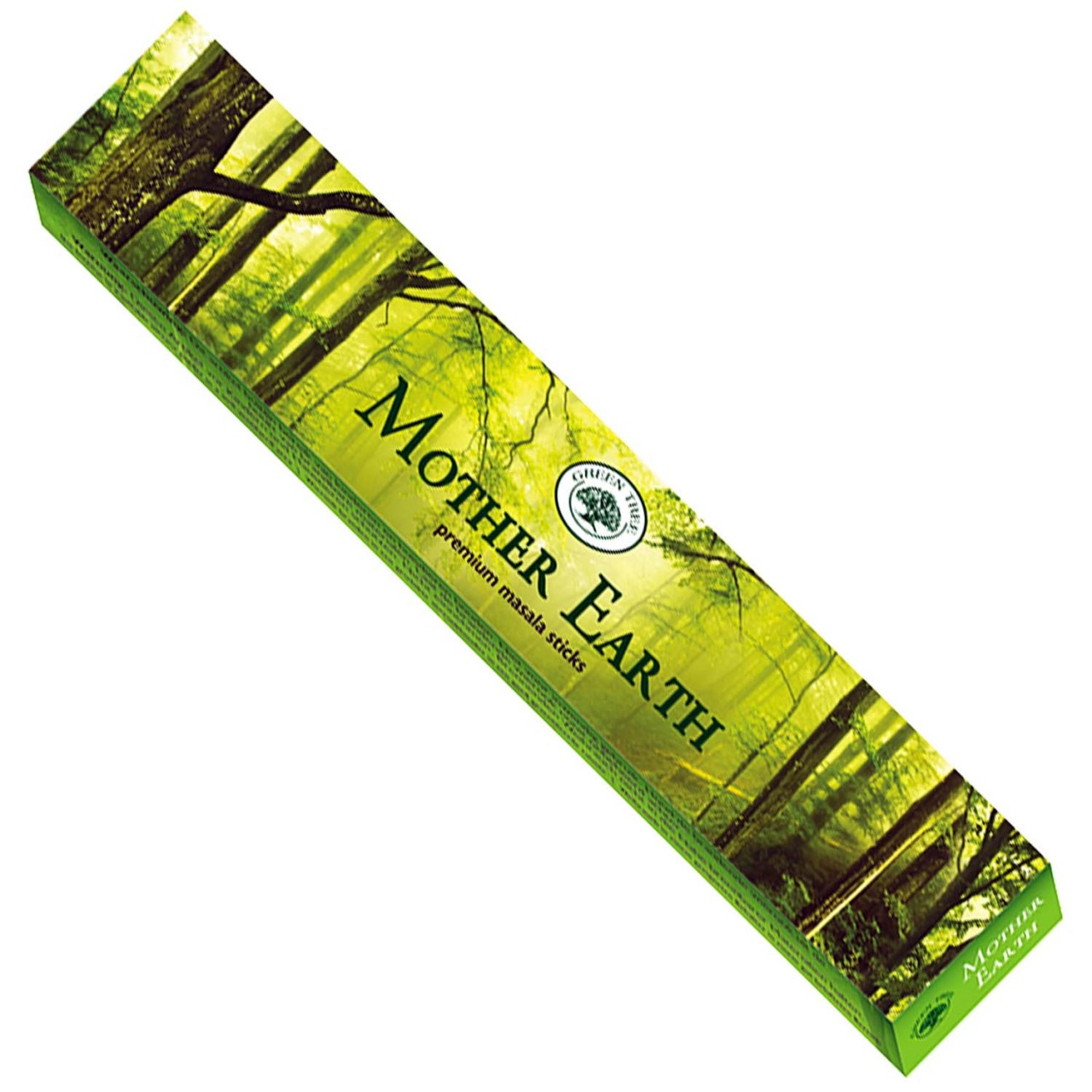 Green Tree Incense Sticks - MOTHER EARTH