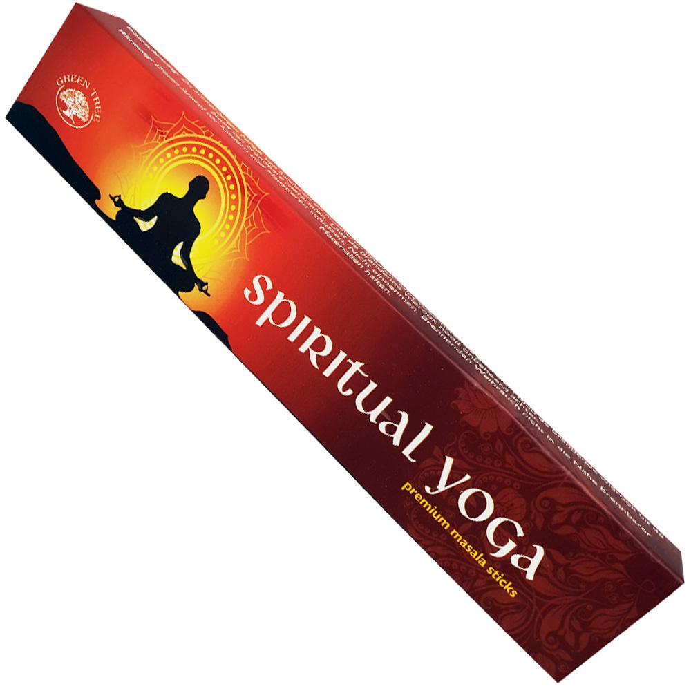 Green Tree Incense Sticks - SPIRITUAL YOGA
