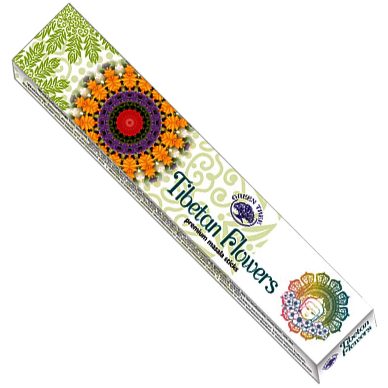Green Tree Incense Sticks - TIBETAN FLOWERS