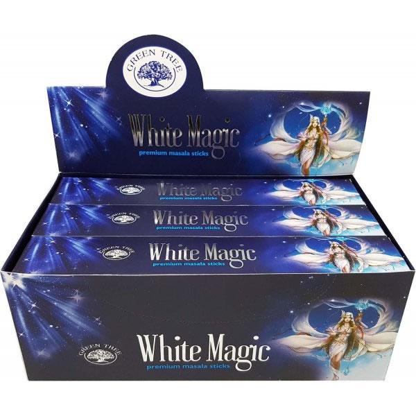 Green Tree Incense Sticks - WHITE MAGIC