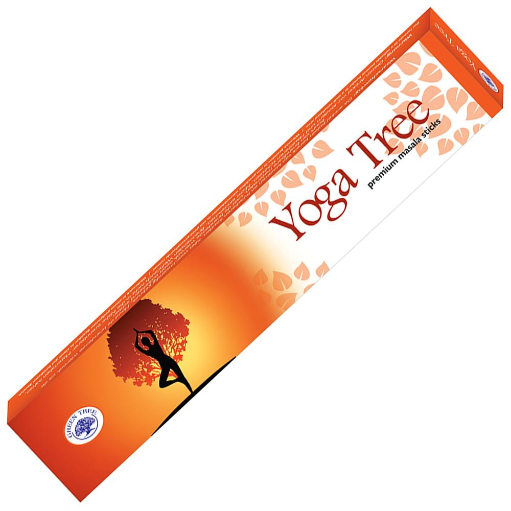 Green Tree Incense Sticks - YOGA TREE