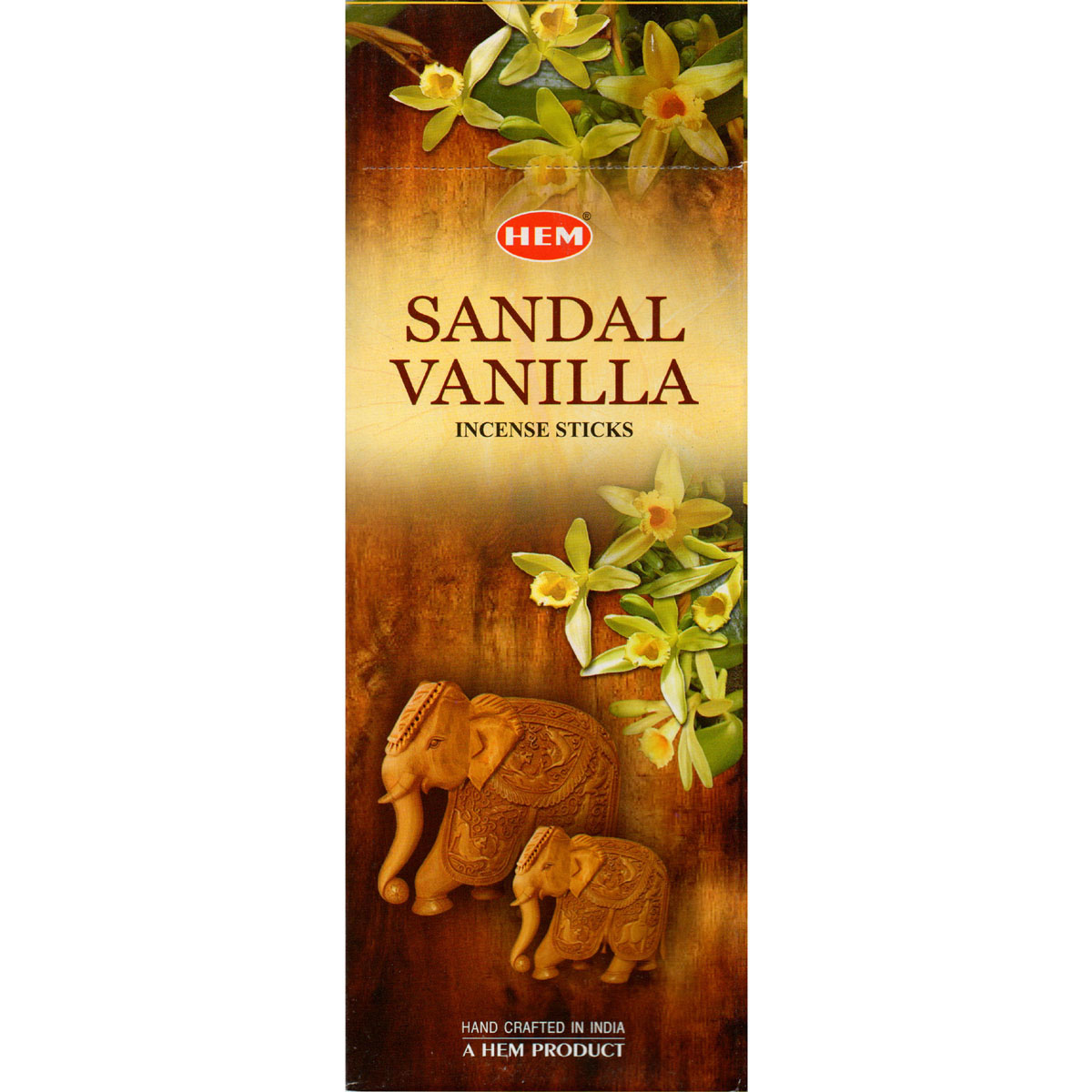 Hem Incense Sticks - SANDAL VANILLA