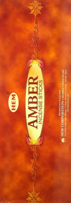 Hem Incense Sticks - AMBER