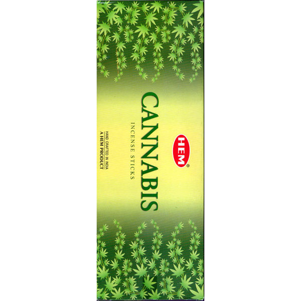 Hem Incense Sticks - CANNABIS