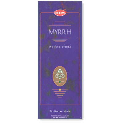 Hem Incense Sticks - MYRRH