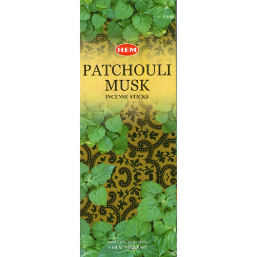 Hem Incense Sticks - PATCHOULI MUSK