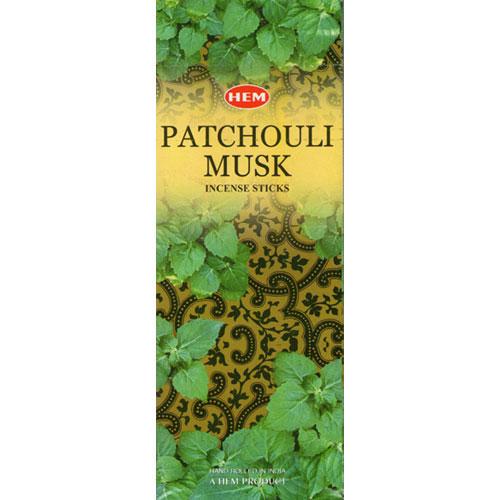 Hem Incense Sticks - PATCHOULI MUSK