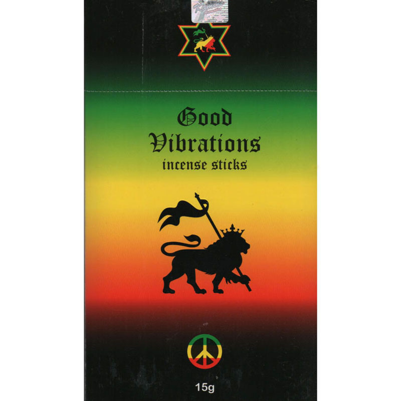 Kamini Incense Sticks - GOOD VIBRATIONS - 15g Flat Box