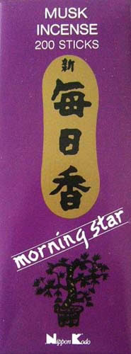 Morning Star Incense - MUSK - 200 Sticks