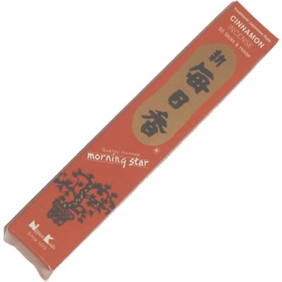 Morning Star Incense - CINNAMON - 50 Sticks