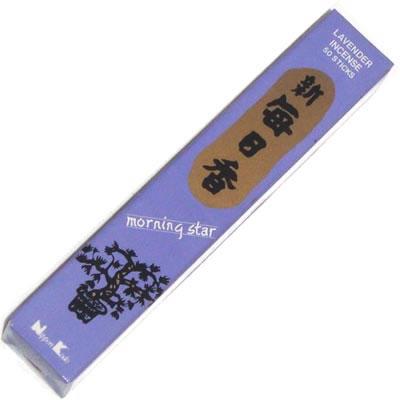 Morning Star Incense - LAVENDER - 50 Sticks