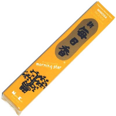 Morning Star Incense - MIMOSA - 50 Sticks