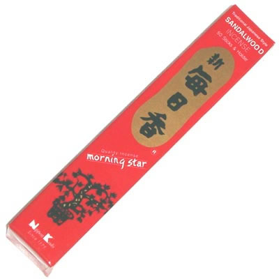 Morning Star Incense - SANDALWOOD - 50 Sticks
