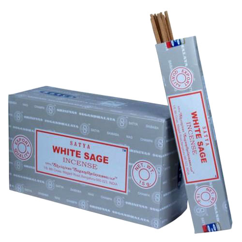 Satya WHITE SAGE Incense 15g