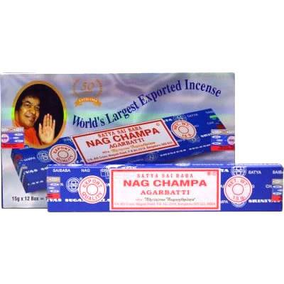 Satya Sai Baba NAG CHAMPA Incense 15g