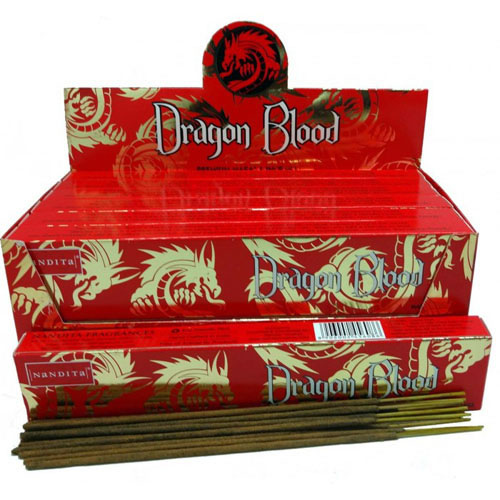 Nandita Incense Sticks - DRAGON BLOOD Organic