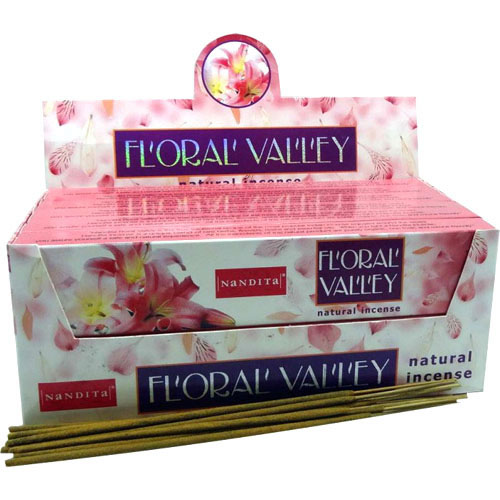 Nandita Incense Sticks - FLORAL VALLEY Organic