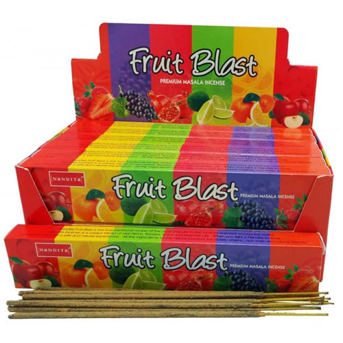 Nandita Incense Sticks - FRUIT BLAST Organic