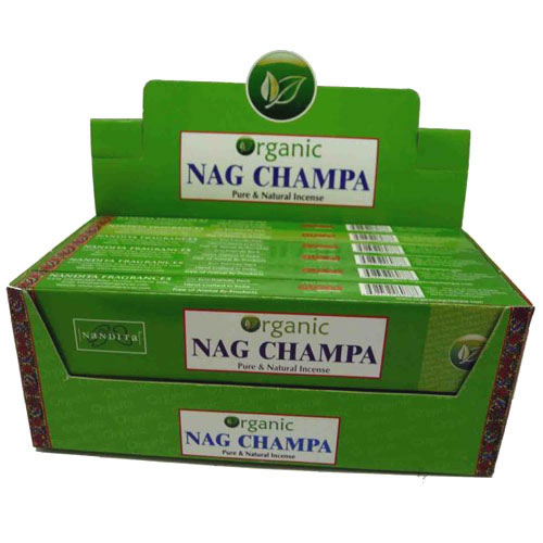 Nandita Incense Sticks - ORGANIC NAG CHAMPA