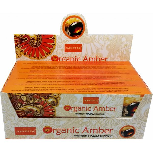 Nandita Incense Sticks - ORGANIC AMBER
