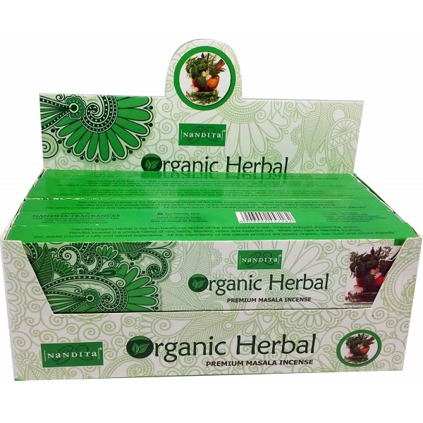 Nandita Incense Sticks - ORGANIC HERBAL
