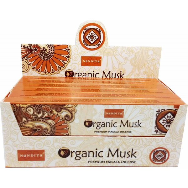 Nandita Incense Sticks - ORGANIC MUSK
