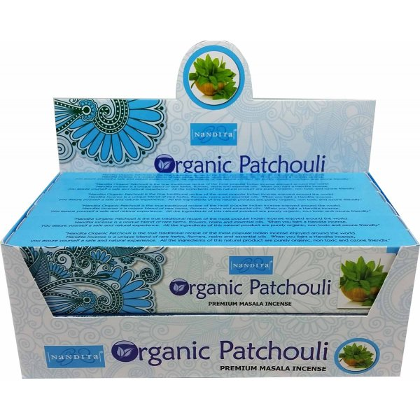 Nandita Incense Sticks - ORGANIC PATCHOULI