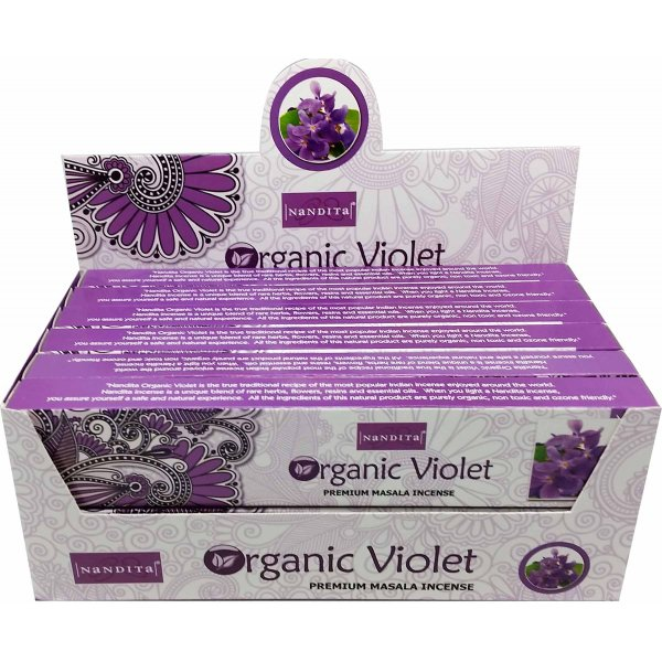 Nandita Incense Sticks - ORGANIC VIOLET