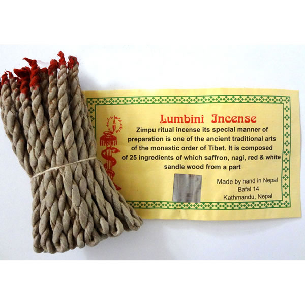 Tibetan Incense - LUMBINI ROPE