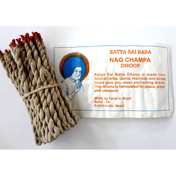 Tibetan Incense - NAG CHAMPA DHOOP ROPE