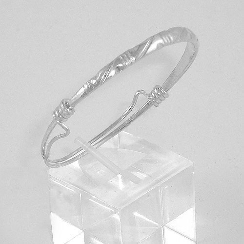 Baby/Infant Sterling Silver Bangle (#5078-NB)