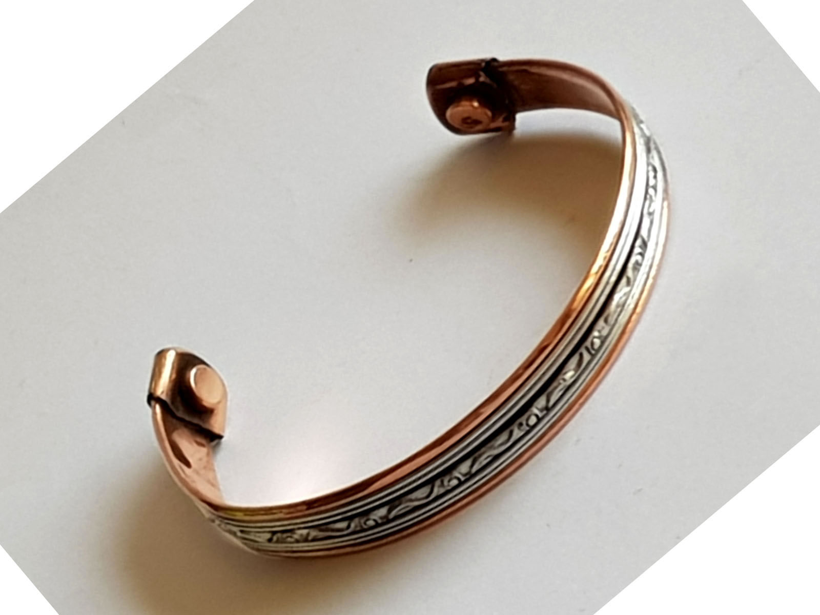 Copper Bangle Magnetic Bracelet #12