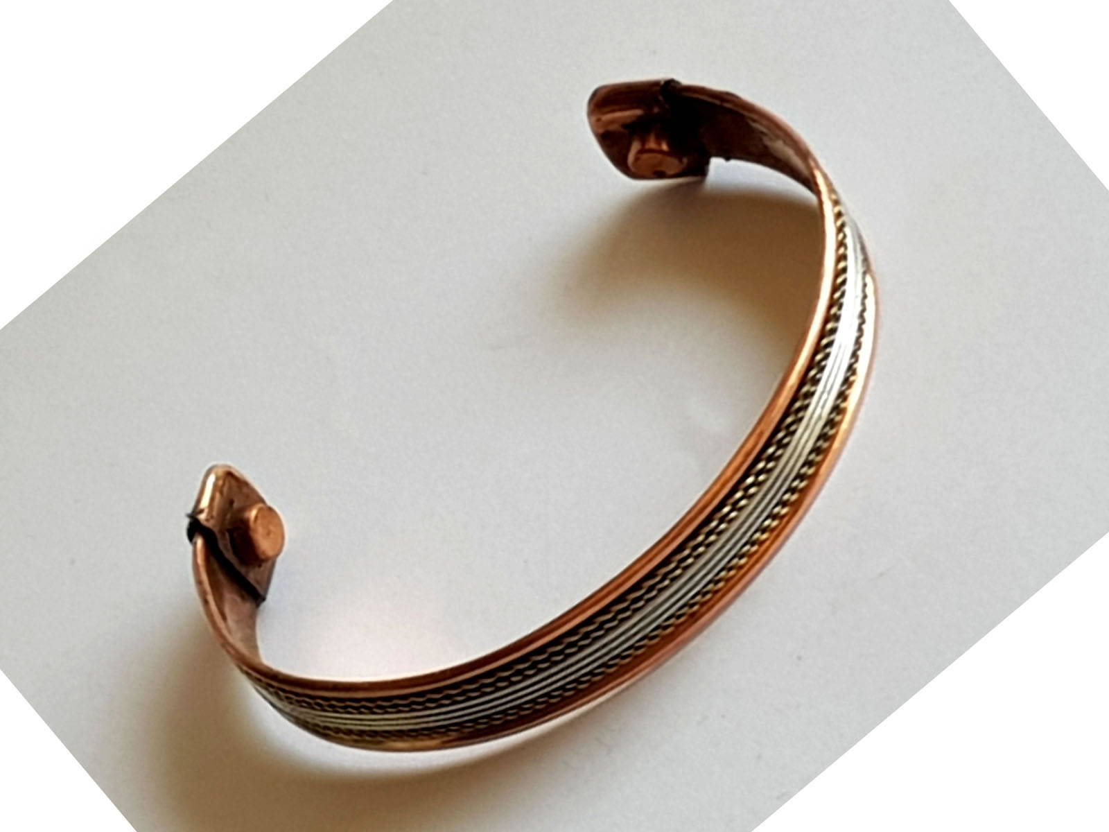 Copper Bangle Magnetic Bracelet #7
