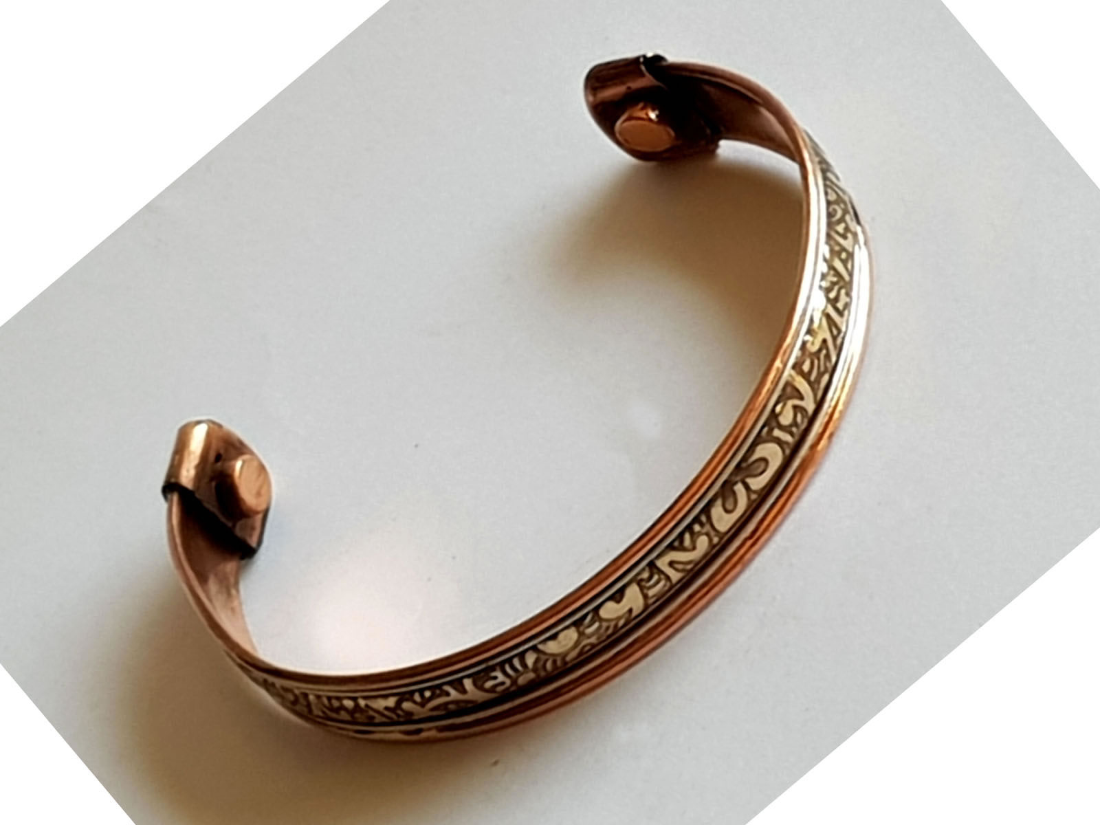 Copper Bangle Magnetic Bracelet #8