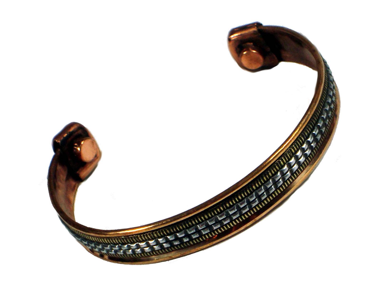 Copper Bangle Magnetic Bracelet #11