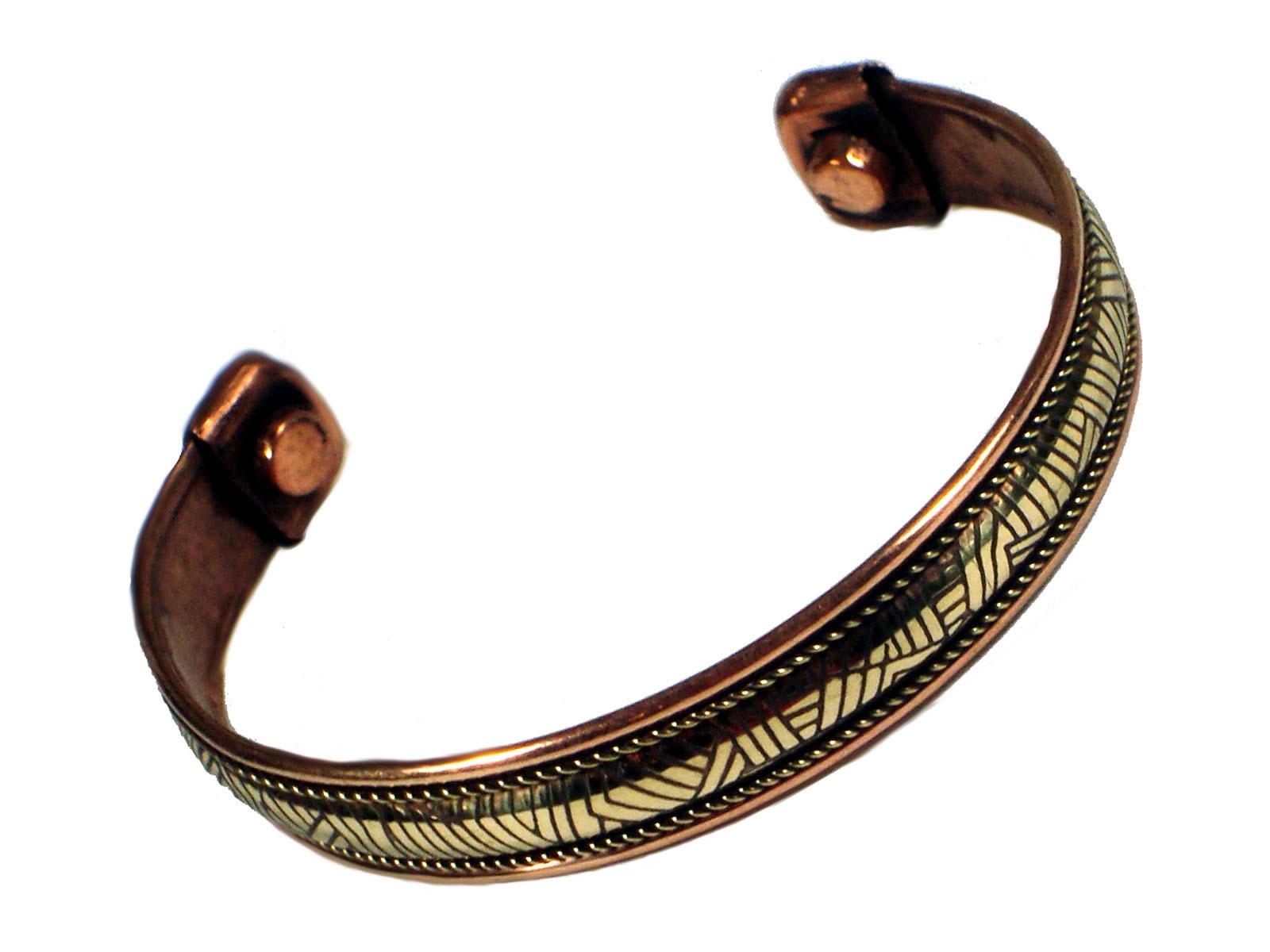 Copper Bangle Magnetic Bracelet #5