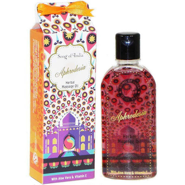 Song of India Herbal Massage Oil - APHRODESIA