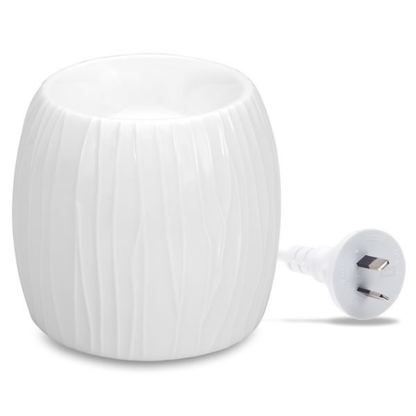 Electric Wax Melt Warmer - WHITE PEARL