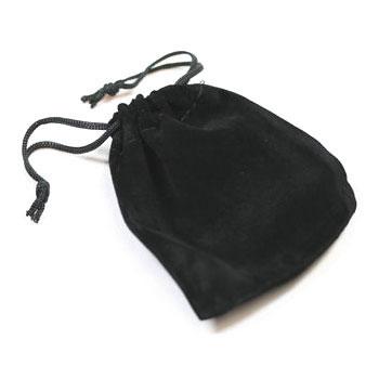Velvet Bags BLACK MEDIUM x 5