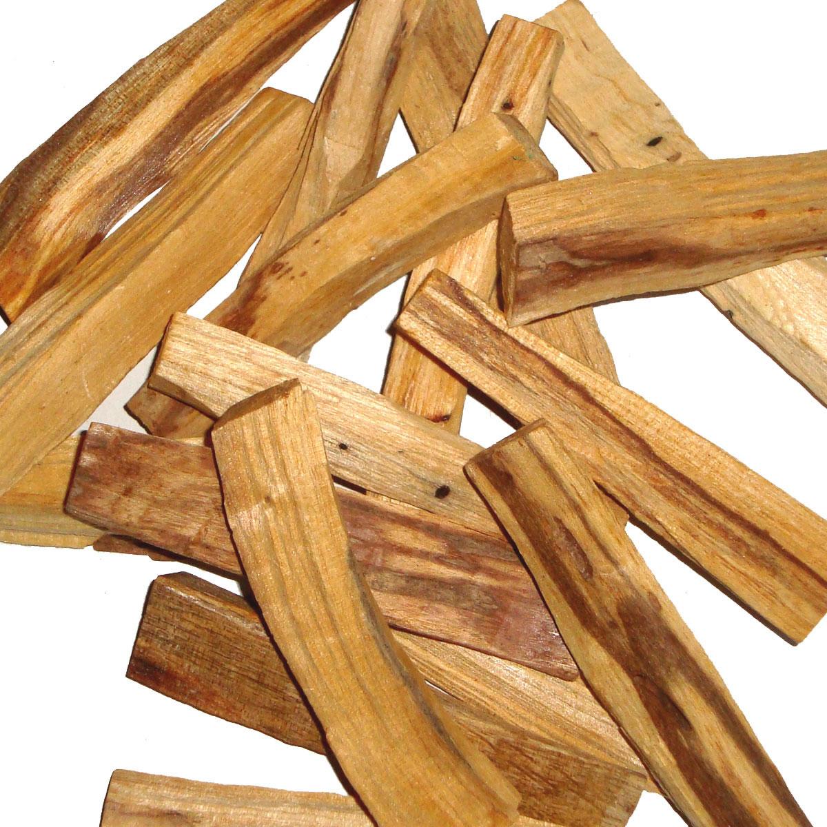 PALO SANTO Incense Sticks THICK STICKS - PERU - BULK - 500g
