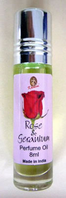 Kamini Perfume Oil - ROSE GERANIUM