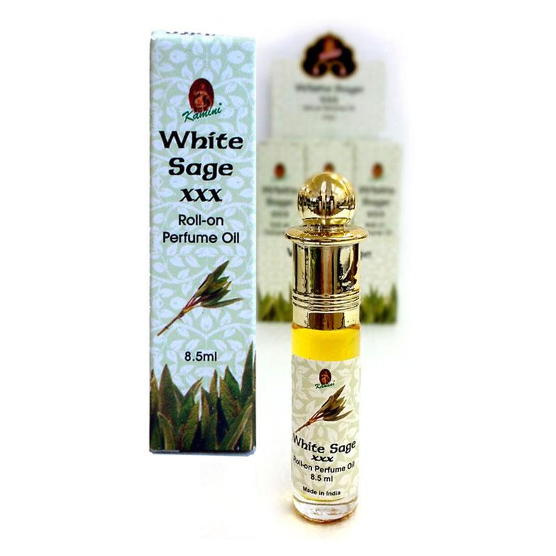 Kamini Perfume Oil - PREMIUM WHITE SAGE XXX