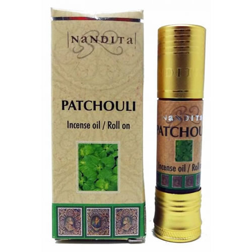 Nandita Incense Oil - PATCHOULI