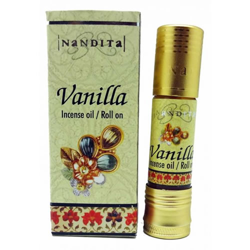 Nandita Incense Oil - VANILLA