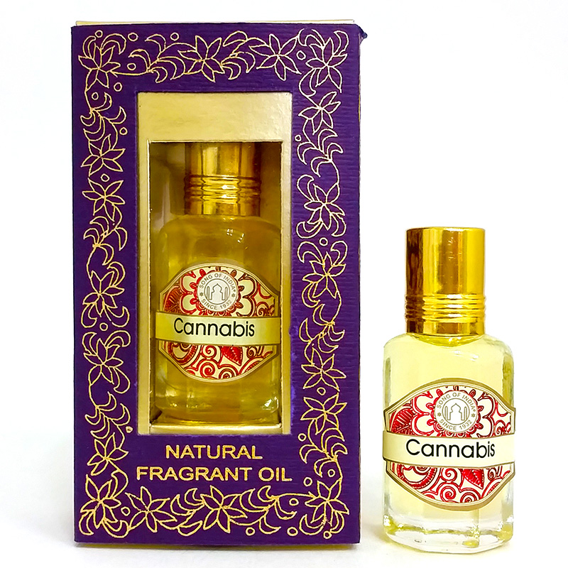 Song of India Perfume Oil - CANNABIS - 10ml