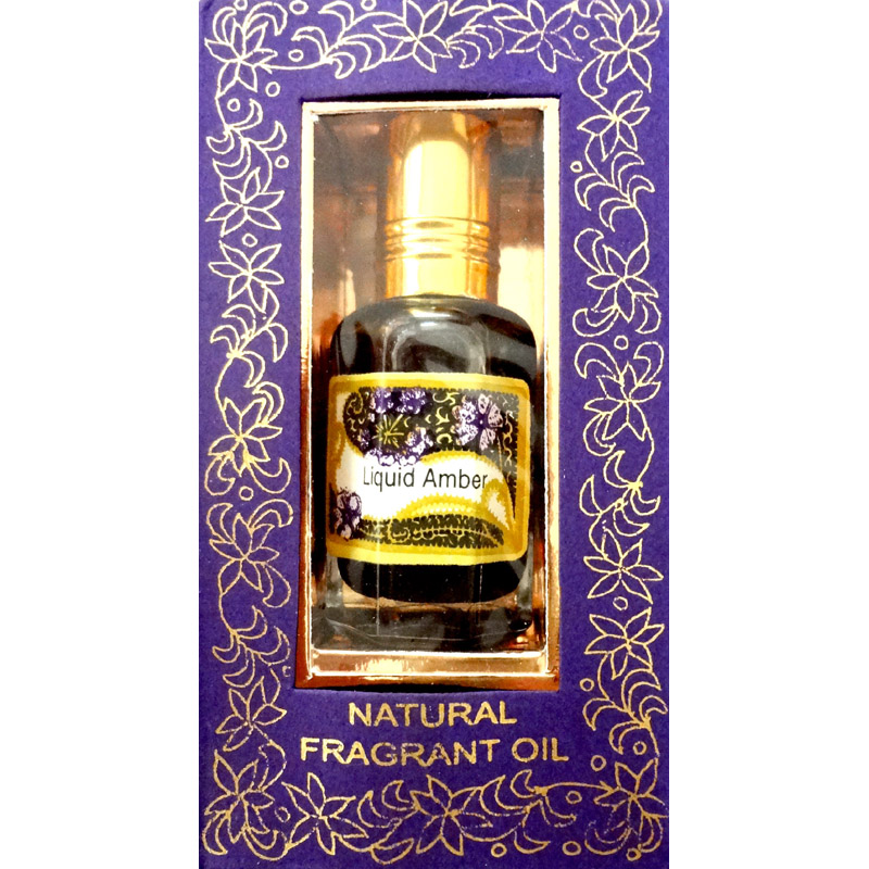 Song of India Perfume Oil - LIQUID AMBER - 10ml