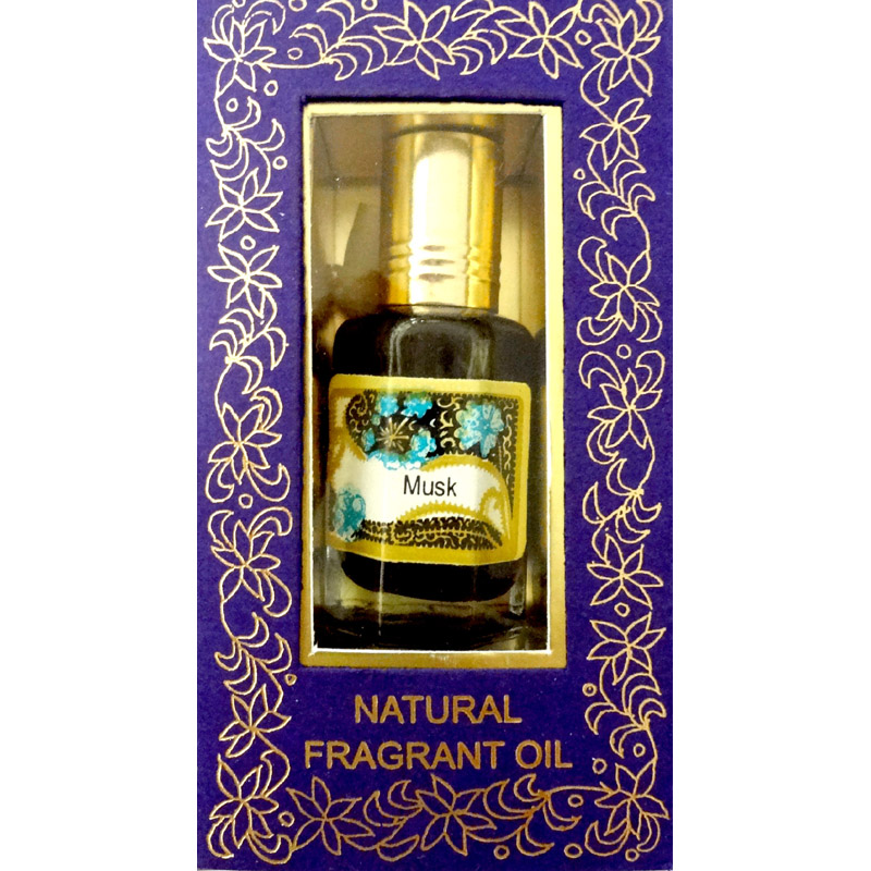 Song of India Perfume Oil - MUSK - 10ml