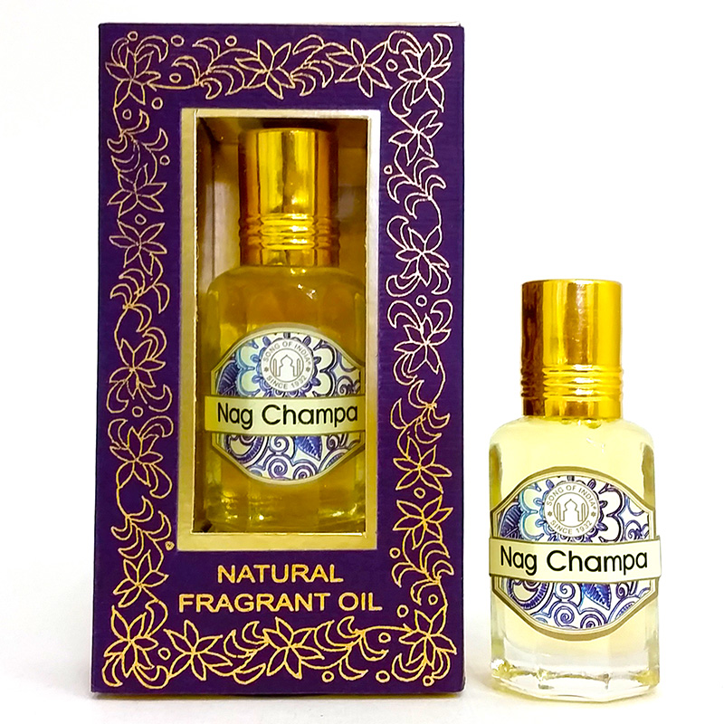 Song of India Perfume Oil - NAG CHAMPA - 10ml